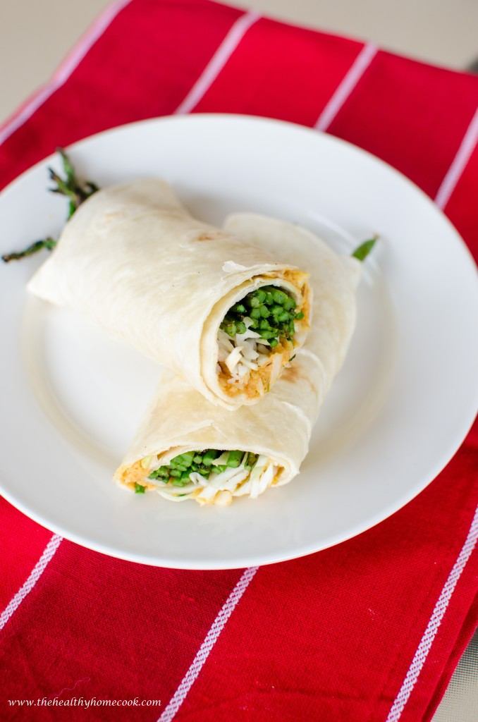 This Cucumber & Ham Wrap with Creamy Ranch Spread is a delicious, nutritious lunch for your kids and super simple to throw together in a hurry.