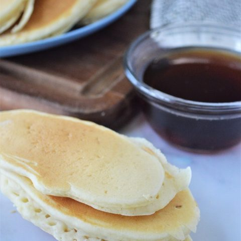 Yummy banana filled pancakes you can eat with your fingers.
