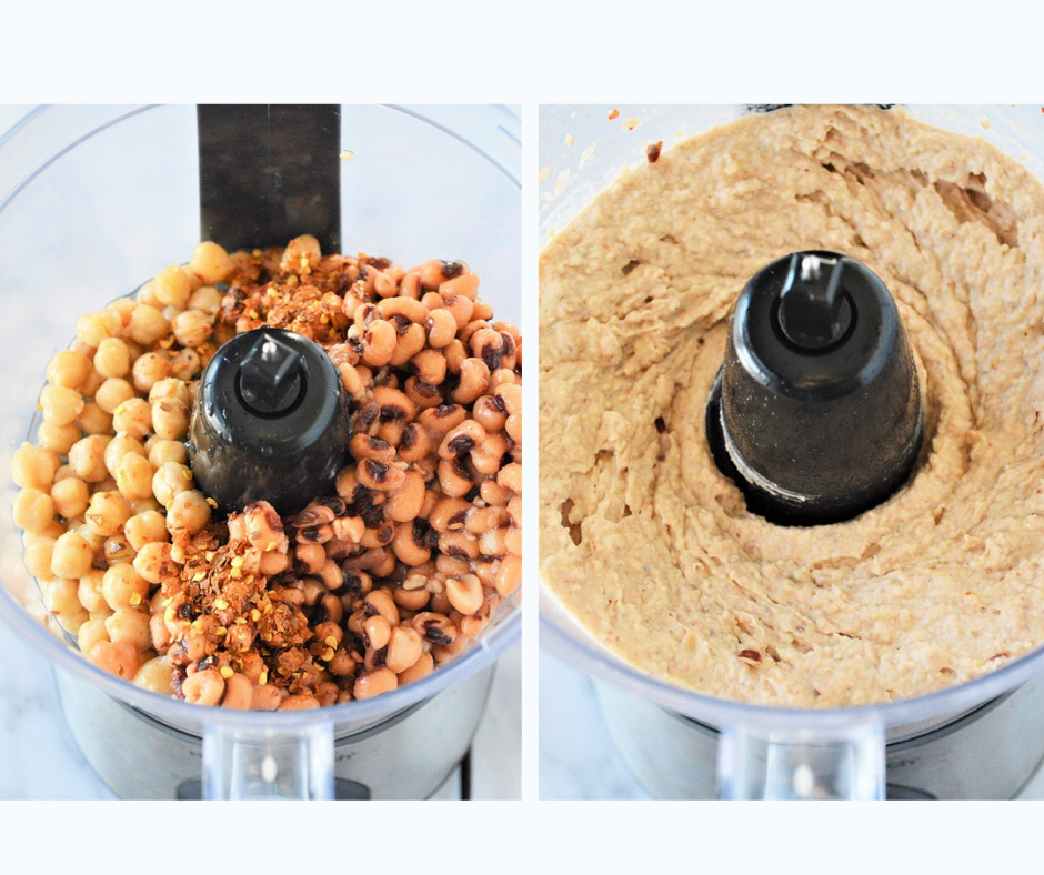This recipe of Black-Eyed Pea Hummus is creamy, flavorful and so easy to make!
