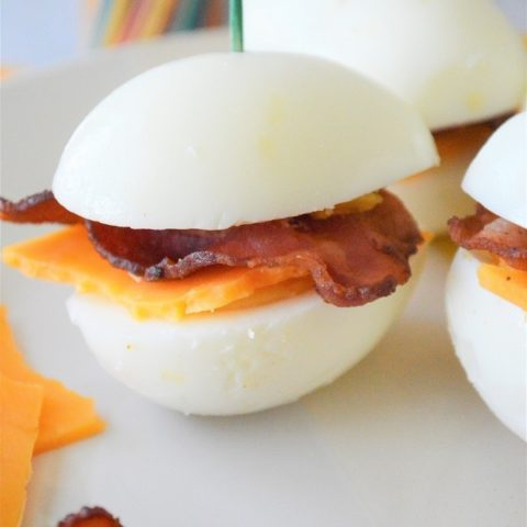 Low Carb Bacon, Egg & Cheese Bites