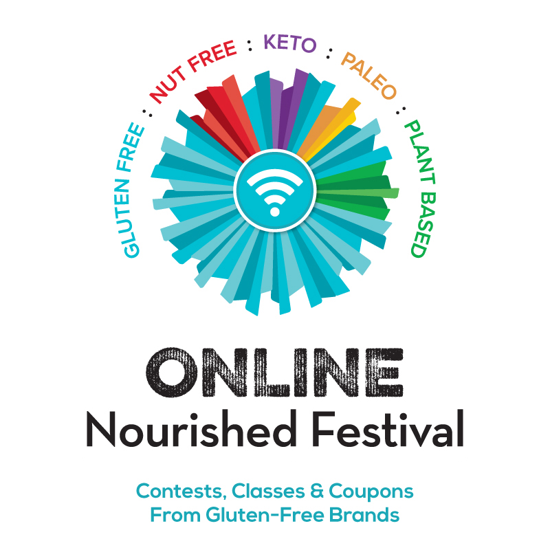 Don't miss out on this years Free Online Gluten-Free and Specialty Diet Festival! #onlinenourishedfestival